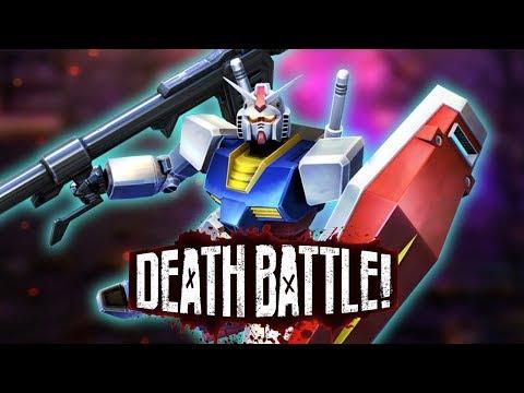 Gundam Mobile Suits Up for DEATH BATTLE!