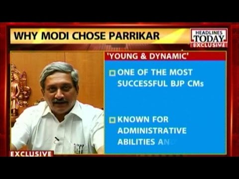 Exclusive Interview with Manohar Parrikar about his move to Delhi