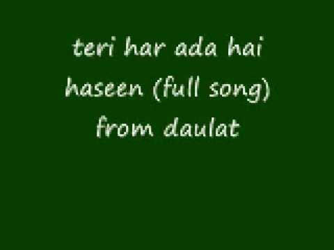teri har ada hai haseen (full song)