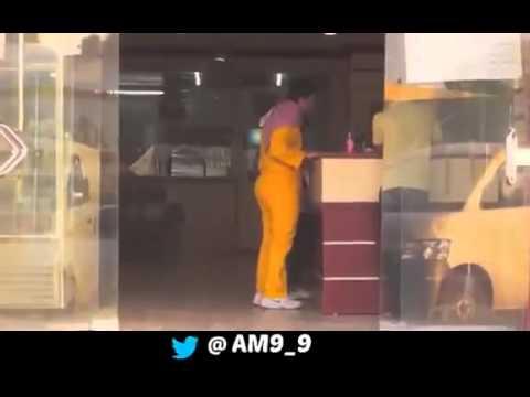 شاب سعودي لبس ملابس عامل نظافه ونزل للشارع   ღϡ₡حمـادهـ الصادقϡ₡ღ
