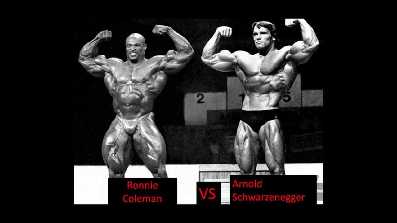 Ronnie Coleman Vs Arnold Arnold Schwarzenegger VS