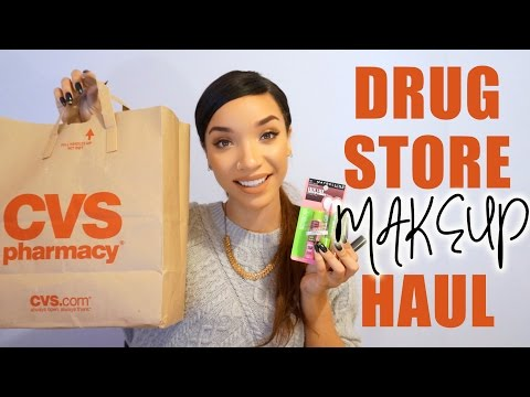 HAUL  Drugstore Makeup + Mini Reviews! (NYX. Milani. Nyc & More!)