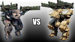 Butch (Trebuchets) vs Fury (Trebuchets) - AnakinTEST #11 | War Robots