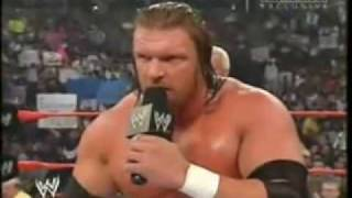 Randy Orton's 2004 Face Turn & Spits in HHH Face