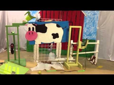 Willo Hill Christian School - Down on the Farm Rube Goldberg 2013 (HD upload)