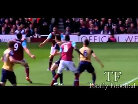 Highlight West Ham United vs Arsenal 3-3 Barclays Premiere League
