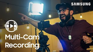 01. How to use Director's View Multi-Cam recording on your Galaxy S21 | Samsung US
