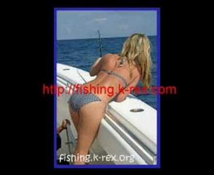 Sexy Girl Fishing 2008