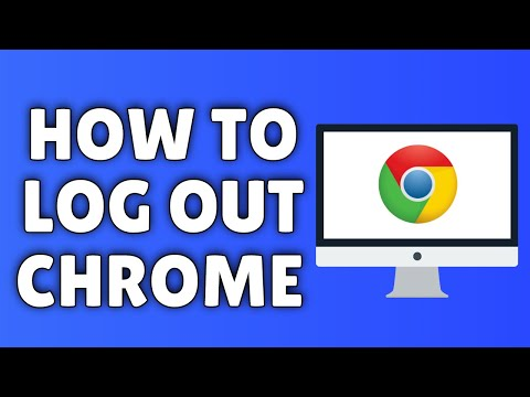 How To Logout Of Google Chrome