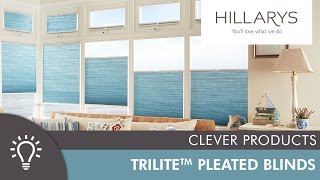 Hillarys Top-Down, Bottom-Up Trilite Pleated Blinds