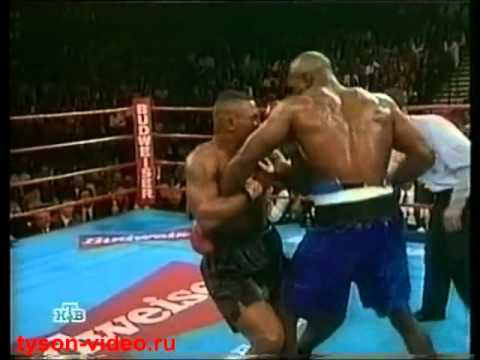 Майк Тайсон - Эвандер Холифилд 1 ч.4 Mike Tyson vs Evander Holyfield
