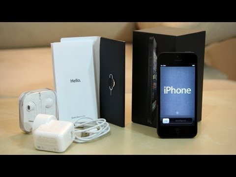 New iPhone 5 Unboxing! (Early iPhone 5 Unboxing)