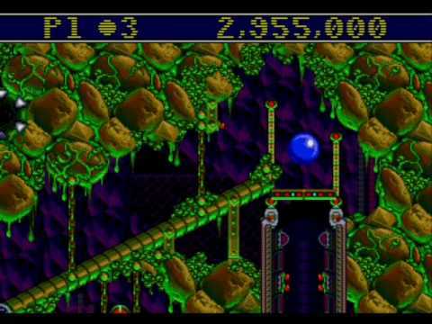 Sega Genesis - Sonic the Hedgehog Spinball (1993)