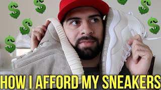 How I Afford Sneakers + Tips for SneakerHeads