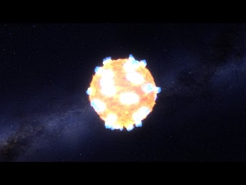 Animation: The Early Flash of an Exploding Star, Caught by Kepler