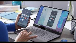 02. Samsung Galaxy Book S - Linking your phone