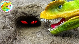 🐉 Dinosaurs tyrants and surprises 🐉 Toy A932P ToyTV 🐉