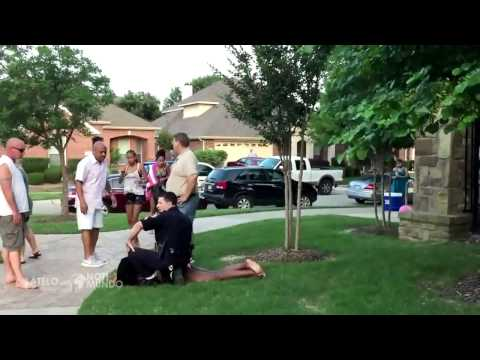[Police Arrest a Young Woman During a Party (2015).] Video
