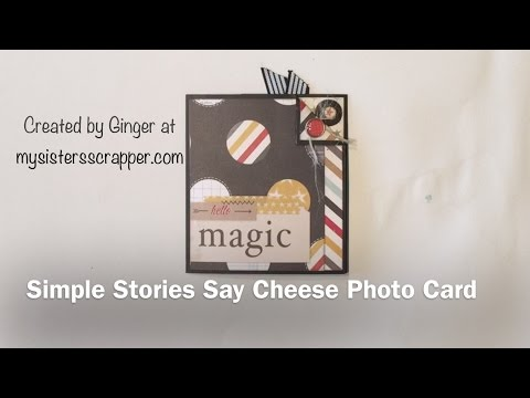 Simple Stories Say Cheese Photo Card