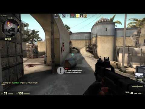 CS:GO Gameplay #1 :Competitive Dust II