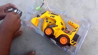 Toy JCB powerful