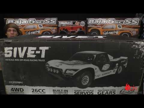 Losi 5IVE or Five 1/5 Scale Black Edition Unboxing & First Review