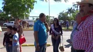 Aylín - Cabalgata Feria Ganadera Sinaloa 2014 en Culiacán - Banda Sin.