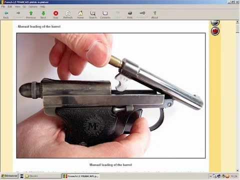 French LE FRANCAIS semi-auto pistols explained - HLebooks.com