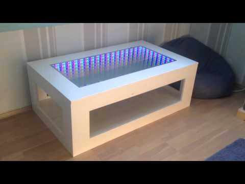 3D LED Illusion mirror table