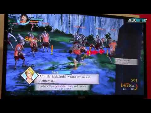 One Piece Pirate Warriors Gameplay (gamescom 2012) video