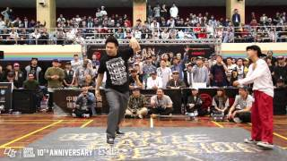 Popping Final Battle - Hozin vs Ringo Winbee | 160229 OBS Vol.10 Day2
