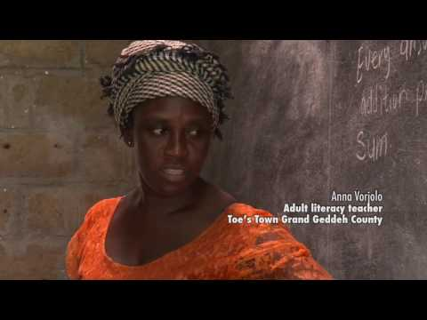Resilience: Building livelihoods opportunities after Ebola