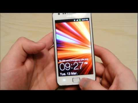 White Samsung Galaxy S2 Unboxing + Preview