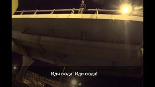 Мотоциклист перекрыл Минское шоссе, чтобы предотвратить самоубийство