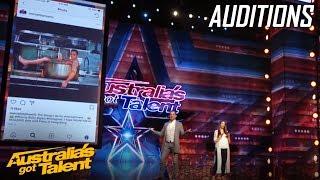 PHEONIX The Mind Guy ASTOUNDS the Judges | Auditions | Australia's Got Talent