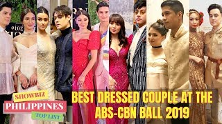 ABS-CBN BALL 2019 BEST DRESSSES COUPLE CELEBRITY of the NIGHT