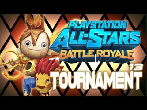 Playstation All-Stars Battle Royale: Tournament Showdown #13 Puppeteer Cup (1v1 Tournament)