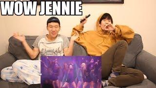 BLACKPINK JENNIE - SOLO (LIVE) - REACTION [SO HOT!!!]