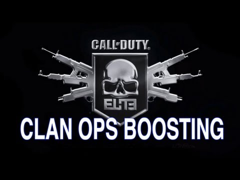 Clan Boosting RANT 1.0 - Activision, Infinity Ward or Beachhead fix Clan OPs