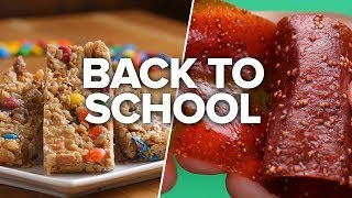4 Back-To-School Snacks