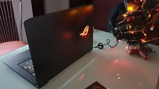 Unboxing ASUS Gaming 17.3'' ROG Strig GL703GE intel i7-8750H, SSHD 1TB, GeForce GTX 1050 Ti 4GB