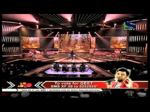 X Factor India - Geet Sagar spectacularly performs Euphorias...