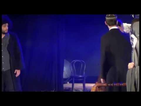 ცხინვალის თეატრის მსახიობებმა გორში ,,ჯაყოს ხიზნები