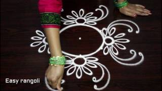 download lagu Simple Rangoli Designs  Dots - Small Kolam Designs gratis