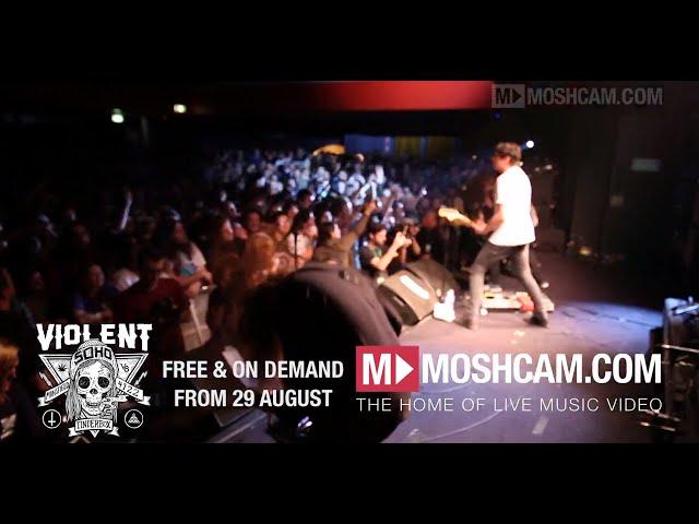 Violent Soho live in Sydney - Full show drops August 29 on moshcam.com!