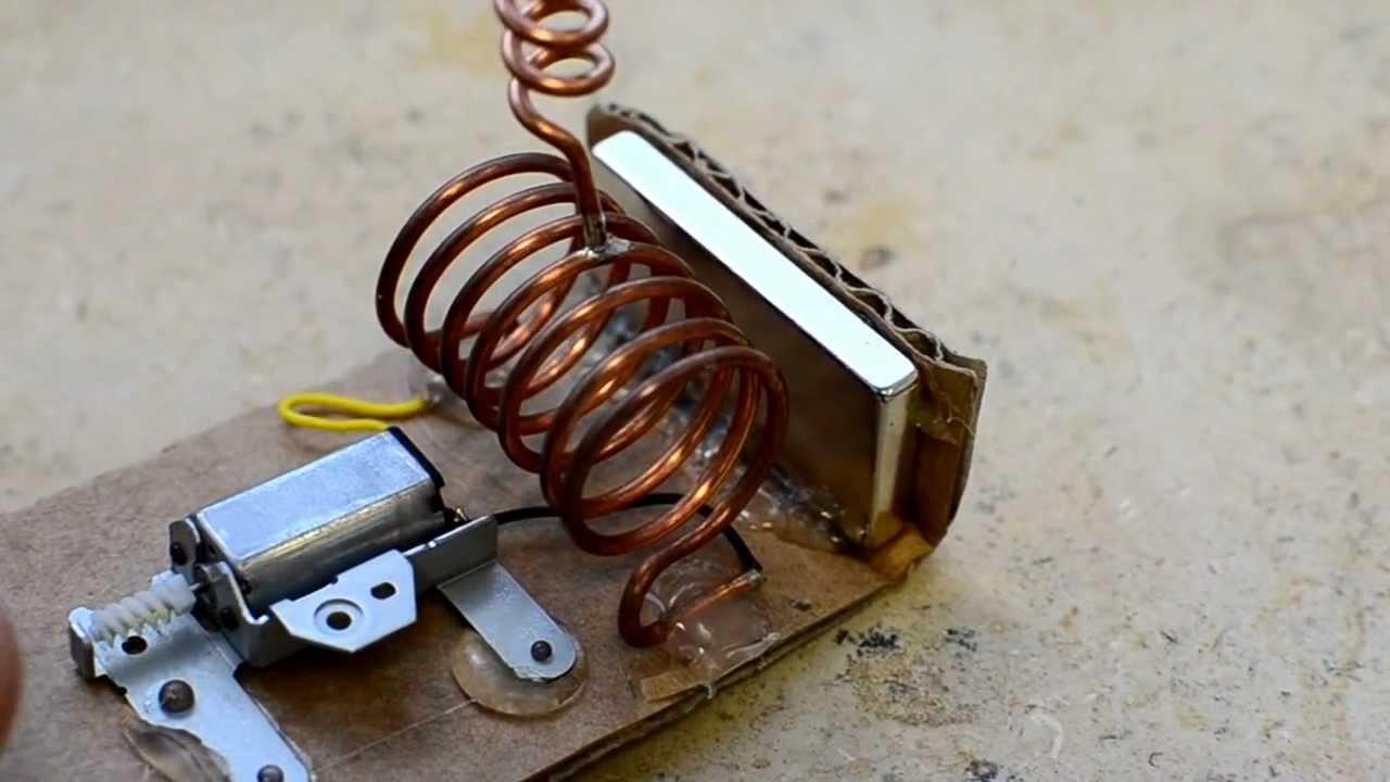 Генератор электрического тока своими руками 654