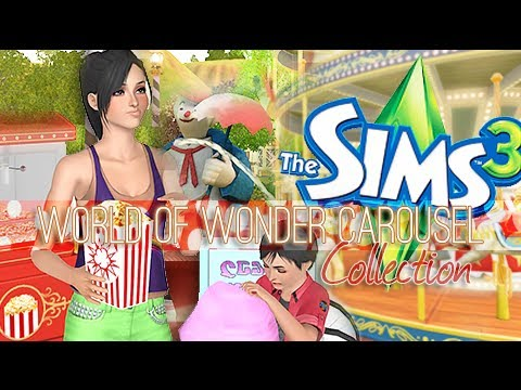 The Sims 3 Store: World of Wonder Carousel Collection - Review + Giveaway.