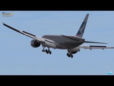 FSX PMDG777F Repaint Cathay Pacific Cargo  of illusion