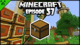 Minecraft Paths, Planning & Storage! | Python's World (Minecraft Survival Let's Play) | Episode 57