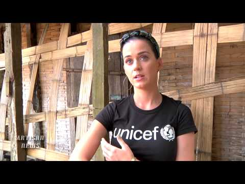 KATY PERRY SHOWS HUMAN SIDE IN MADAGASCAR